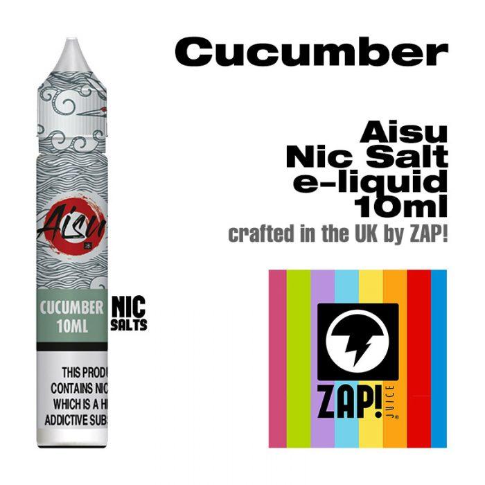 Cucumber - Aisu NicSalt e-liquid made by Zap! 10ml