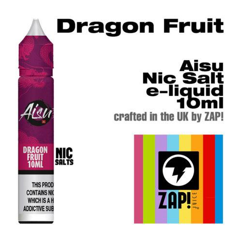 Dragon Fruit - Aisu NicSalt e-liquid made by Zap! 10ml