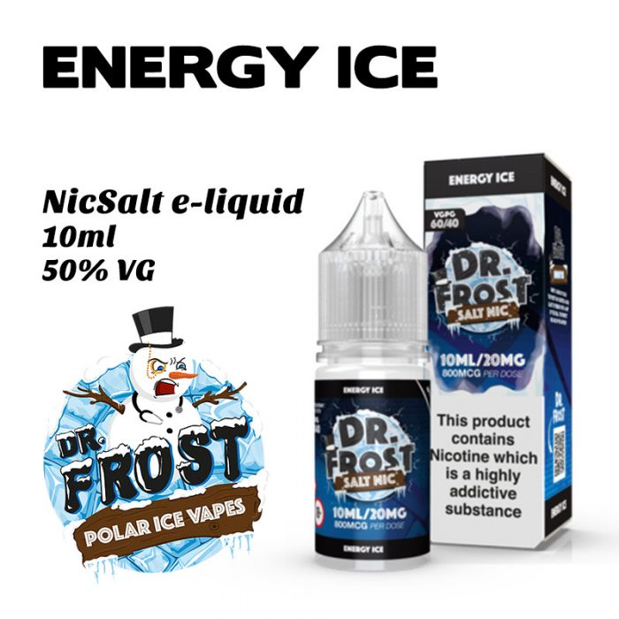 Energy Ice - Dr Frost NicSalt e-liquid 10ml