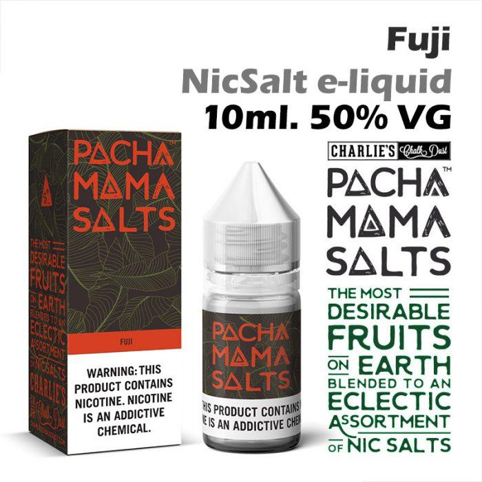 Fuji - Pacha Mama NicSalt e-liquid by Charlies Chalk Dust 10ml