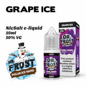 Grape Ice - Dr Frost NicSalt e-liquid 10ml