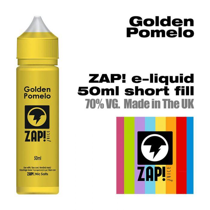 Golden Pomelo by Zap! e-liquid - 70% VG - 50ml