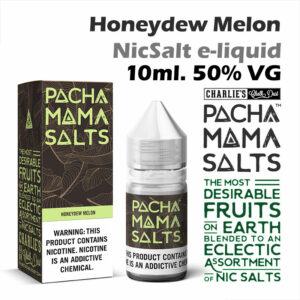 Honeydew Melon - Pacha Mama NicSalt e-liquid by Charlies Chalk Dust 10ml