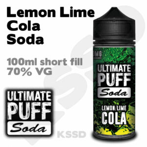 Lemon Lime Cola Soda - Ultimate Puff eliquid - 100ml