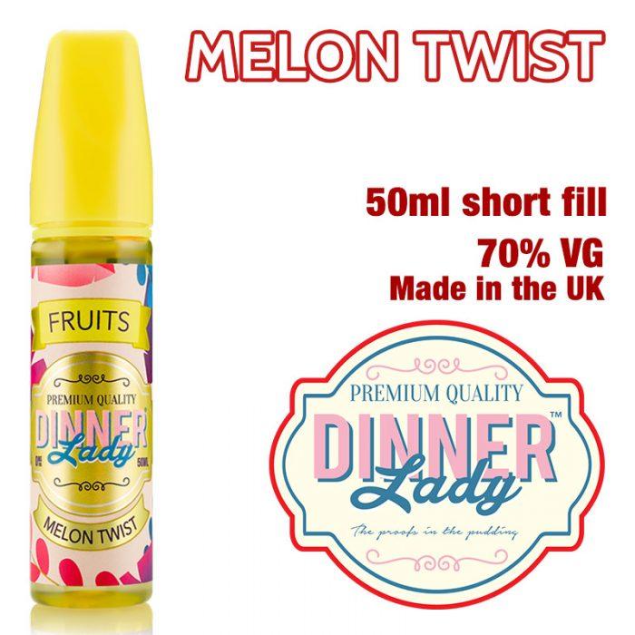 Melon Twist e-liquid by Dinner Lady - 70% VG - 50ml