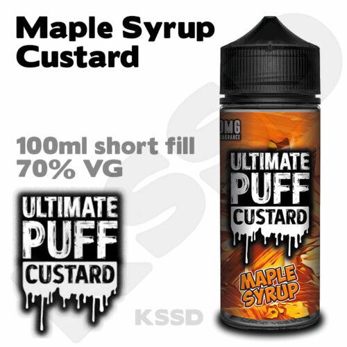 Maple Syrup Custard - Ultimate Puff eliquid - 100ml
