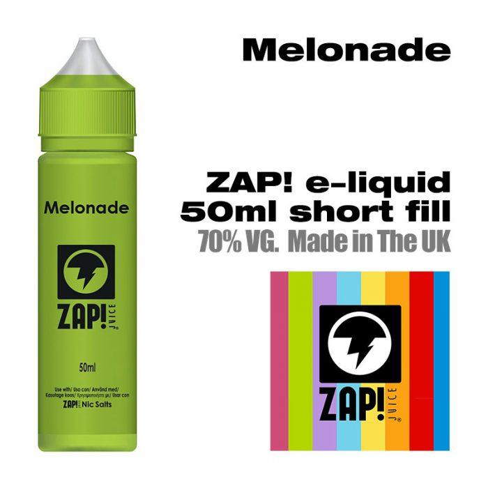 Melonade by Zap! e-liquid - 70% VG - 50ml