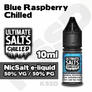 Blue Raspberry Chilled - Ultimate Salts e-liquid - 10ml