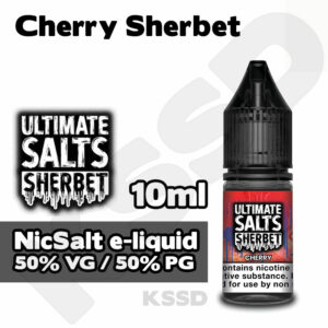 Cherry Sherbet- Ultimate Salts e-liquid - 10ml