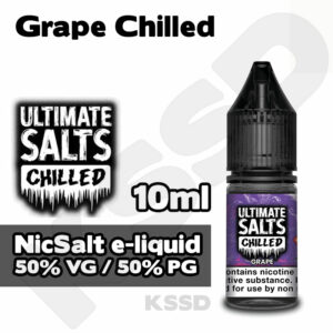 Grape Chilled - Ultimate Salts e-liquid - 10ml