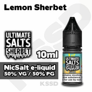 Lemon Sherbet - Ultimate Salts e-liquid - 10ml