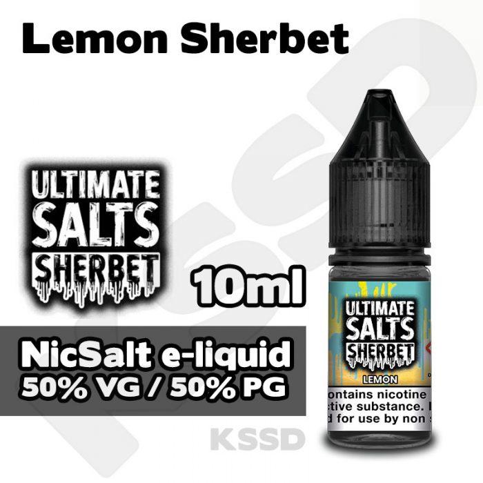Lemon Sherbet - Ultimate Salts e-liquid - 10ml