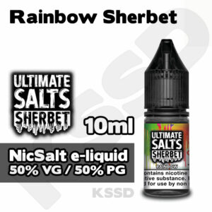 Rainbow Sherbet - Ultimate Salts e-liquid - 10ml