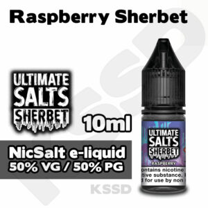 Raspberry Sherbet - Ultimate Salts e-liquid - 10ml