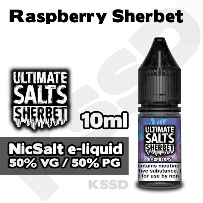 Raspberry Sherbet - Ultimate Salts e-liquid - 10ml