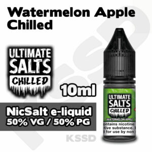 Watermelon Apple - Ultimate Salts e-liquid - 10ml