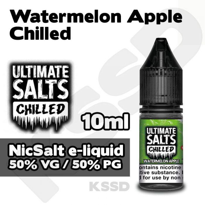 Watermelon Apple - Ultimate Salts e-liquid - 10ml