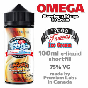Omega - Dr Fog's eliquid 75% VG - 100ml