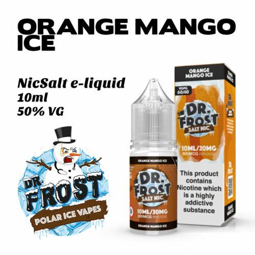Orange Mango Ice - Dr Frost NicSalt e-liquid 10ml