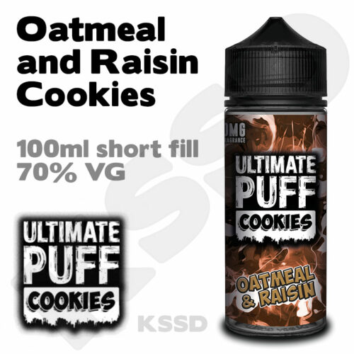 Oatmeal and Raisin Cookies - Ultimate Puff eliquid - 100ml