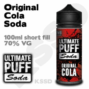 Original Cola Soda - Ultimate Puff eliquid - 100ml