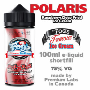 Polaris - Dr Fog's eliquid 75% VG - 100ml
