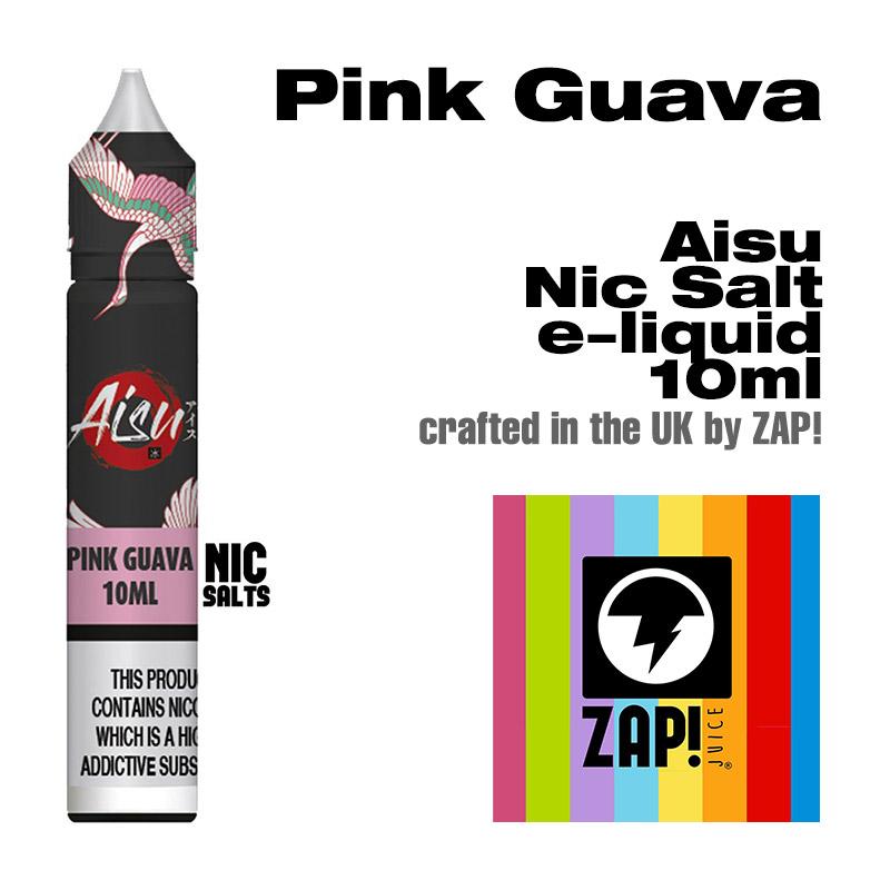 Pink Guava - Aisu NicSalt e-liquid made by Zap! 10ml