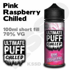 Pink Raspberry - Ultimate Puff eliquid - 100ml