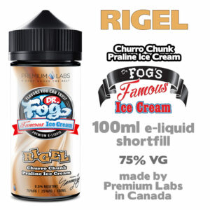 Rigel - Dr Fog's eliquid 75% VG - 100ml