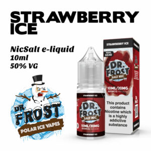 Strawberry Ice - Dr Frost NicSalt e-liquid 10ml