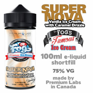 Supernova - Dr Fog's eliquid 75% VG - 100ml