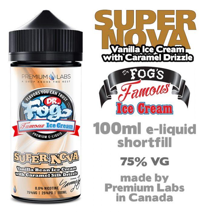 Supernova - Dr Fog's eliquid 75% VG - 100ml