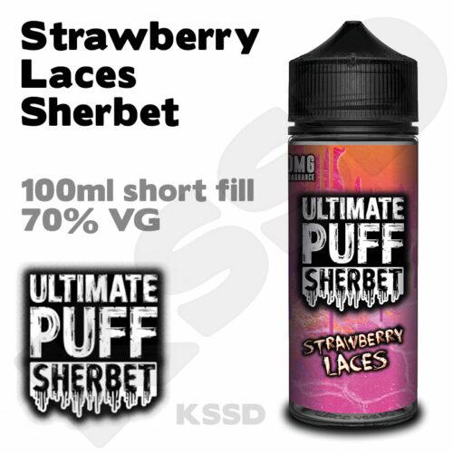 Strawberry Laces - Ultimate Puff eliquid - 100ml
