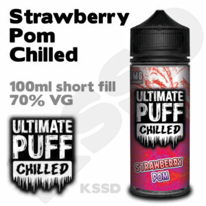 Strawberry Pom Chilled - Ultimate Puff eliquid - 100ml