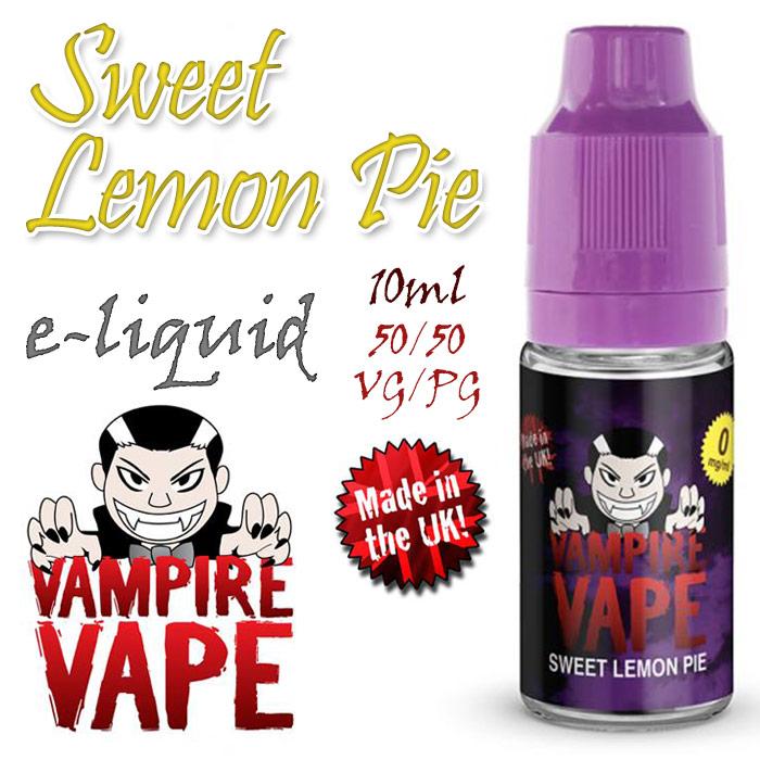 Sweet Lemon Pie - Vampire Vape 40% VG e-Liquid - 10ml