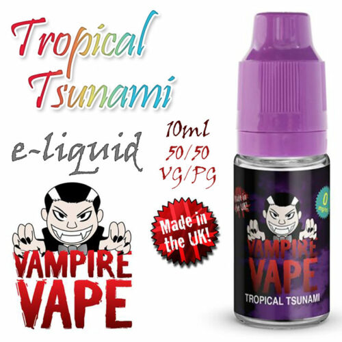 Tropical Tsunami - Vampire Vape 40% VG e-Liquid - 10ml