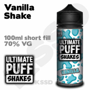 Vanilla Shake - Ultimate Puff eliquid - 100ml