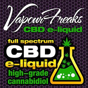 Vapour Freaks CBD e-liquids