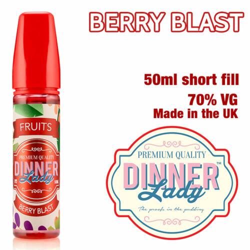 Berry Blast e-liquid by Dinner Lady - 70% VG - 50ml