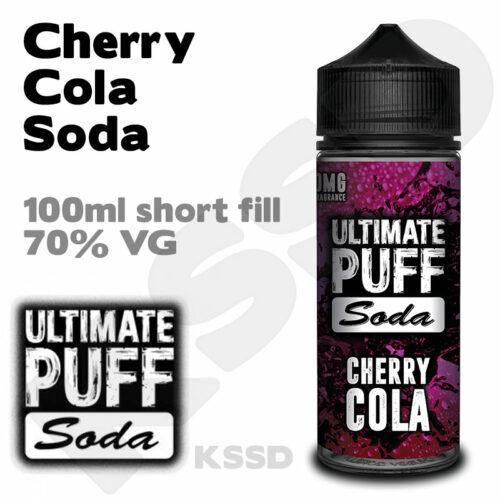 Cherry Cola Soda - Ultimate Puff eliquid - 100ml