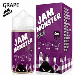Grape Jam Monster e-liquid – Max VG – 100ml