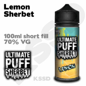 Lemon Sherbet - Ultimate Puff eliquid - 100ml