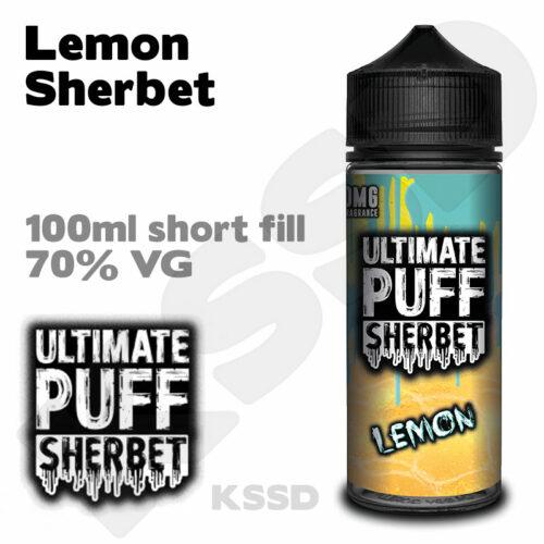 Lemon Sherbet - Ultimate Puff eliquid - 100ml