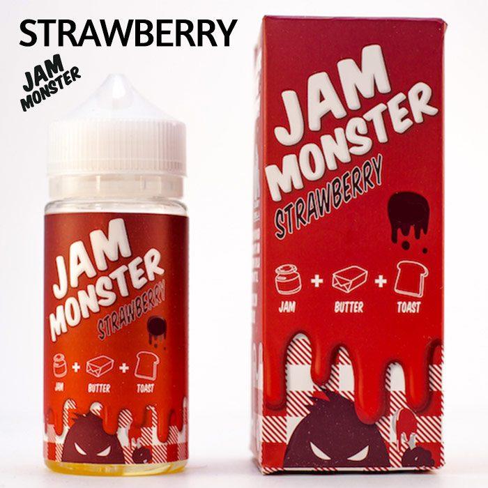 Strawberry Jam Monster e-liquid – Max VG – 100ml