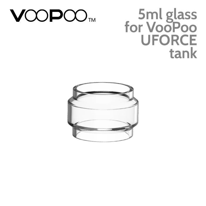 Replacement glass for VooPoo UFORCE tanks – 5ml