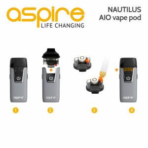 Aspire Nautilus AIO vape device
