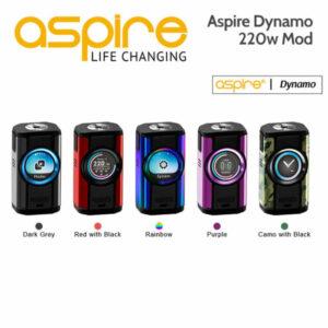 Aspire Dynamo 220w Dual Cell Mod