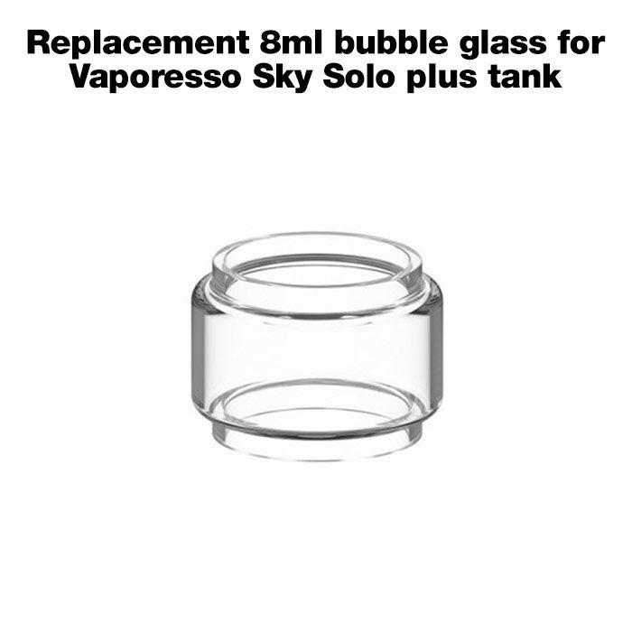 Replacement 8ml bubble glass for Vaporesso Sky Solo Plus tank