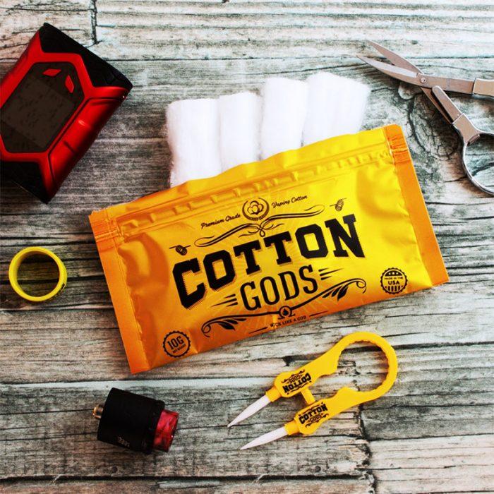 Cotton Gods organic cotton wick - 10g - made in USA