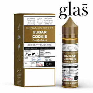 Sugar Cookie - Glas e-liquids - 70% VG - 50ml